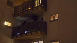 Od choinki zapaliło się mieszkanie