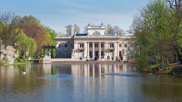 łazienki Zamek I Pałac W Wilanowie Królewskie Rezydencje