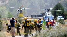 Pożary lasów w Hiszpanii