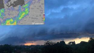 Pogoda na pięć dni: burzowy front, a z nim ulewy, grad i porywisty wiatr