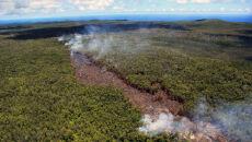 Erupcja hawajskiego wulkanu Kilauea