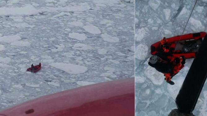 Polacy uwięzieni na wodach Antarktyki. <br />Brawurowa akcja ratunkowa