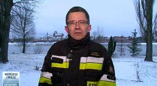Paweł Frątczak o aktualnej sytuacji nad morzem (TVN24)